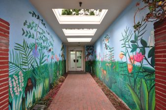 4 School Interior Hallway